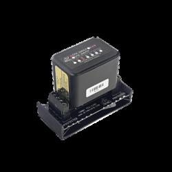 Protección modular para 2 pares, campo reemplazable, con base, circuito de 24 V