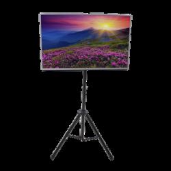 """Trípode portátil soporte de piso TV compatible con montaje VESA para pantallas de 32""""-65"""""""