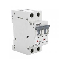 Protección Térmica 2P, 16 A, Corriente Alterna 400 Vca para Aplicación Fotovoltaica Montaje Riel DIN