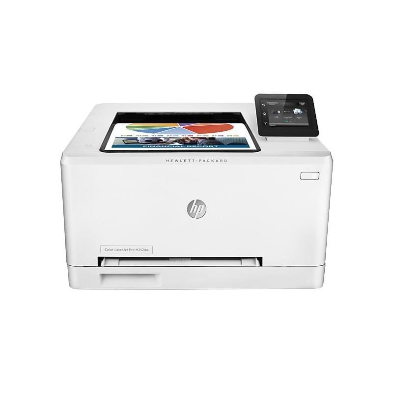 HP Color LaserJet Pro Color M252DW Blanco y negro y color: hasta 19 ppm carta