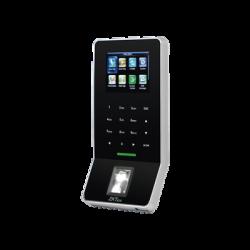 Lector Biométrico de Huella / MIFARE® / SILKID / 3000 Usuarios / ADMS Gratis / WiFi / Teclado táctil / Estético / Soporta D