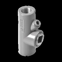 """Sello hembra de 1"""" (25.4 mm) de aluminio para areas peligrosas tipo EYS libre de cobre."""