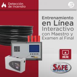 Certificación Virtual de Detección por Aspiración y Lineal de Temperatura SAFE
