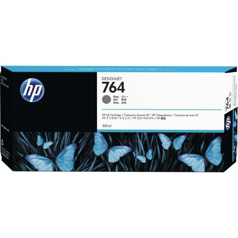 Cartucho de tinta DesignJet HP 764 de 300 ml gris