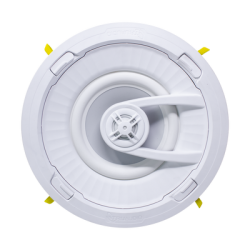 """Ghost Series Altavoz de 7 """" de Techo, Diseño TruGrip, Instalacion Sin Herramientas, Woofer de Polipropileno Blanco con Quick Co"""