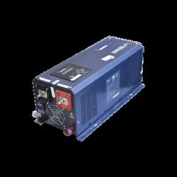 Inversor Cargador de Corriente 2500W, ENT:24V SALIDA 120VAC 50/60 Hz