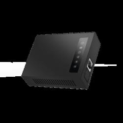 Adaptador de teléfono analógico (ATA) de 1 Puerto FXS (para teléfono analógico) y con 2 puertos RJ45 10/100 Mbps