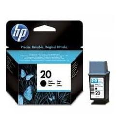 CARTUCHO HP NEGRO  20 DESKJET 610C-640C-656C  228 PAG