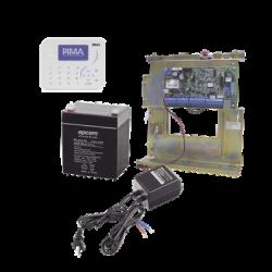 Sistema de Alarma, Panel Hibrido 8 a 144 Zonas, Conexión IP con App PIMALINK3.0 ¡Gratis!