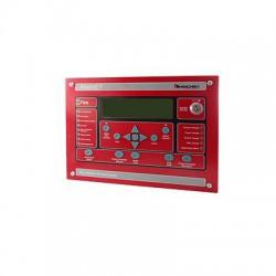 Anunciador serial para paneles FireNET para aplicaciones marinas, 320 carácteres, color rojo