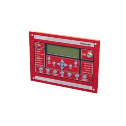 Anunciador Serial Para Paneles FireNET, 320 Caracteres, Color Rojo