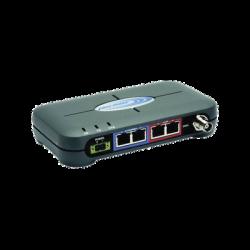 Radio Industrial para enviar datos, hasta 154 kbps, 900 MHz, con puerto Ethernet y Serial