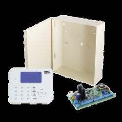Kit de Alarma Incluye Teclado De superficie Plana RXN800 y Panel Hunter8 de 8-16 Zonas