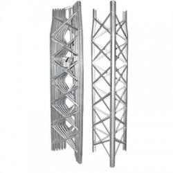 Torre Autosoportada de 14.6 m, 6 Secciones Prearmadas. Galvanizada en Caliente (6 ft² @ 70.7 MPH).