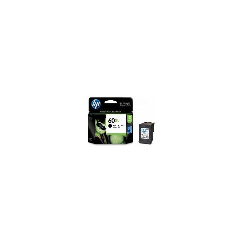 CARTUCHO HP NEGRA DE TINTA HP60XL ALTO RENDIMIENTO F4280 600 PAG