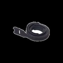 Kit de 10 Cintas de Contacto, de 12.7mm (.50in) de Ancho, 203mm (8in) de Largo, Color Negro