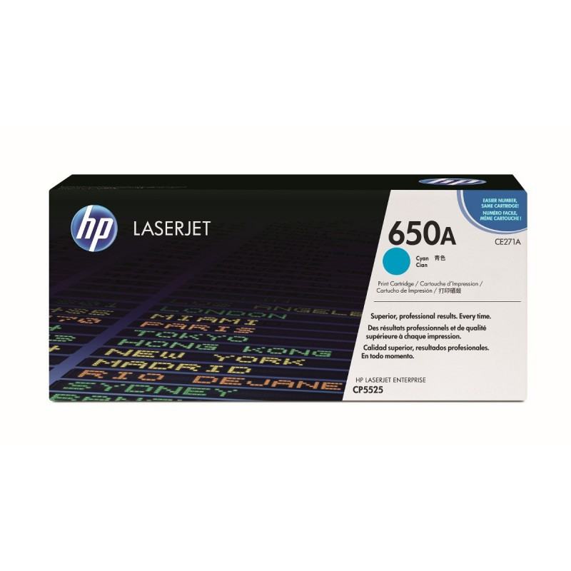 TONER HP CYAN LJ CP5520 PRINTER SERIES 15000 PAG