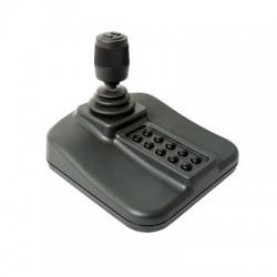 Joystick USB para fácil control PTZ con Movimiento de 3 Ejes y 12 Botones Programables.
