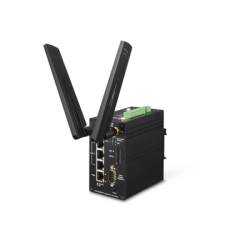 Router Industrial 4G LTE, 2 SIM Card, 1 puerto WAN, 3 Puertos LAN