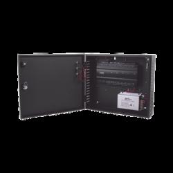 Controlador de Acceso / 2 PUERTAS / Biometría Integrada / Hasta 3,000 Huellas / 30,000 Tarjetas / Incluye Gabinete y Fuente de