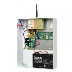 Tarjeta Panel de Control de Alarma de 8-16 Zonas con Gabinete. Equipo No Incluido: Radio, Teclado, Transformador y Batería.