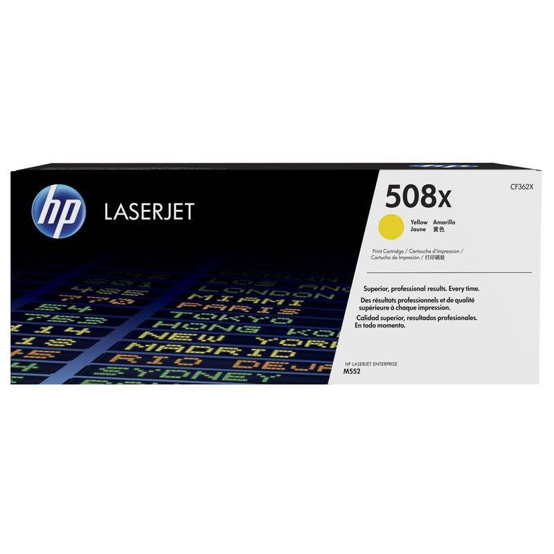 TONER HP YELLOW LASERJET M553N
