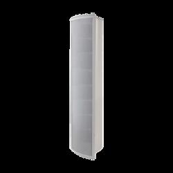 Altavoz Tipo Columna para Exterior, Configurable a 80, 40, 20 o 10 Watts, Color Blanco, Fabricado en Aluminio