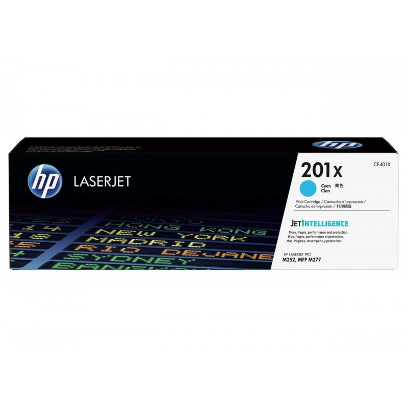 HP 201X Cyan LaserJet Toner Cartridge