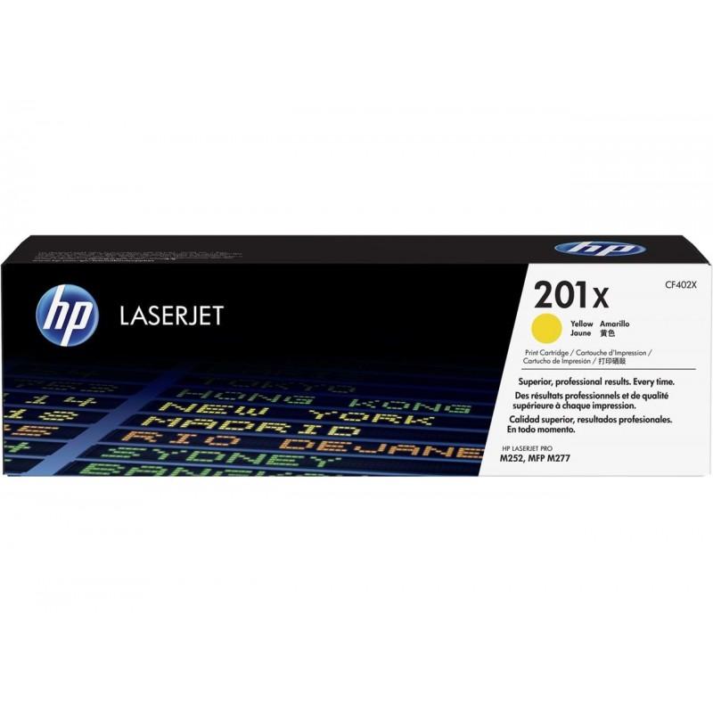 HP 201X Yellow LaserJet Toner Cartridge