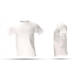 Camiseta T Shirt  Cuello Redondo Algodón Franela