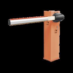 Kit de barrera vehicular CAME G3750 / Gabinete naranja / Incluye mástil de 4 metros sin iluminación / Incluye resorte 001G0406