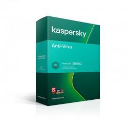 Kaspersky Anti-Virus Latin America Edition. 3-Desktop 1 Year 2021