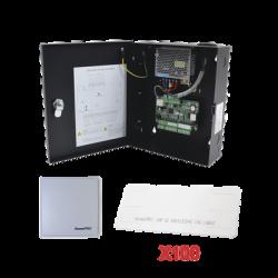Kit para automatizar 1 ACCESO VEHICULAR con STICKERS en Parabrisas de vehiculos / Incluye Panel, lector y 100 stickers / Softwa