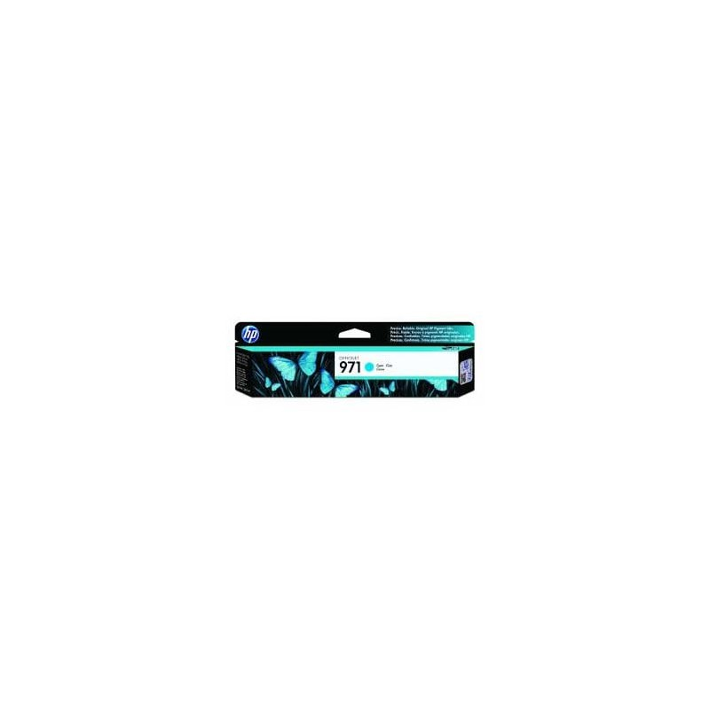 CARTUCHO HP CYAN 971 OJ PRO X451 X476 dw 2.500 Pag.