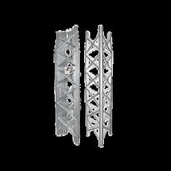 Torre Autosoportada Ligera TBX de 7.3 m de altura, Secciones 6 a 8 Prearmadas. Sin Mástil.
