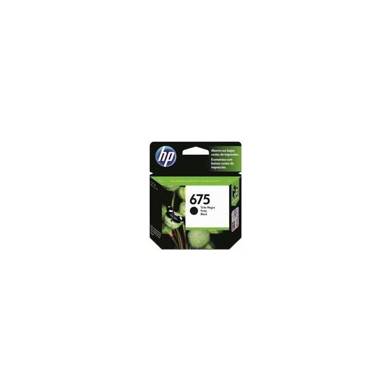 CARTUCHO HP NEGRO 675 OFFICEJET 4000 4400 4575 600 PAG
