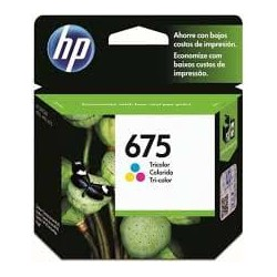 CARTUCHO HP TRICOLOR 675 OFFICEJET 4000 4400 4575 250 PAG