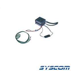 Interface para Radios ICF121S/221S, Incluye Bracket Doble para Montar los Radios.