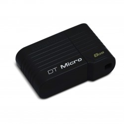 Memoria USB Micro DTMCK - 8GB - Mini Negra