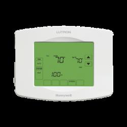 Termostato Touchpro inalambrico, para el control de clima, se integra a soluciones LUTRON RadioRa2/RA2 Select.