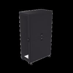 Gabinete Profesional para Telecomunicaciones de 37UR, 600 mm de Ancho x 1000 mm de Profundidad.