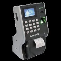 Reloj checador con impresora integrada ideal para comedores / TCP/IP / Reportes de asistencia con software / Imprime ticket por