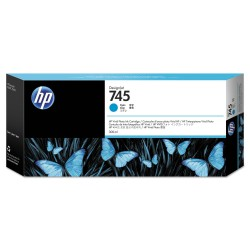 Cartucho de tinta DesignJet HP 745 de 300 ml cian