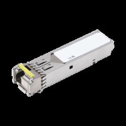 Tranceptor mini-Gbic SFP 1G LC TX:1550nm RX:1310 para fibra Mono Modo 10 Km WDM, Requiere MGB-LA10