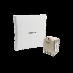 Kit de Repetidor Inalámbrico PIMA y Trasnsformador, permite repetir Controles Remotos