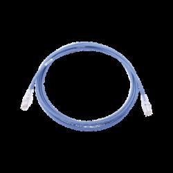 Patch Cord MC6 Modular Cat6 UTP, CM/LS0H, 10ft, Color Azul