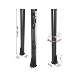 Carcasa Ultra Resistente / 200cm de Altura / Ideal para Sensores Fotoeléctricos / Instalación en suelo