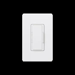 Dimmer 3 hilos/unico polo, 150W CFL/LED o 600 inc/hal