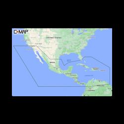 M-NA-Y205-MS C-MAP REVEAL América central y el caribe.