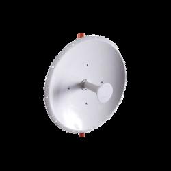 Antena Direccional de 3 ft, 4.9-6.2 GHz, Ganancia 34 dBi con SLANT de 45 ° y 90°, Conectores N-hembra, y montaje incluido.
